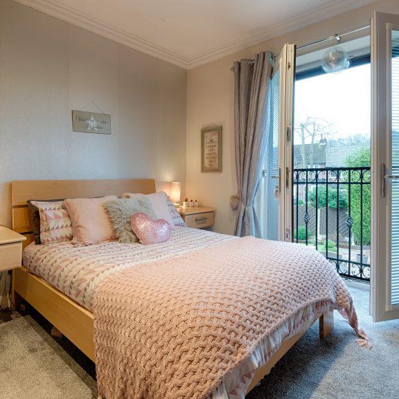 Bedroom 3 & Balcony