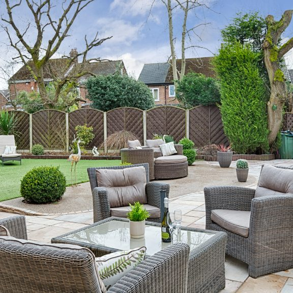 Outside Entertaining Space