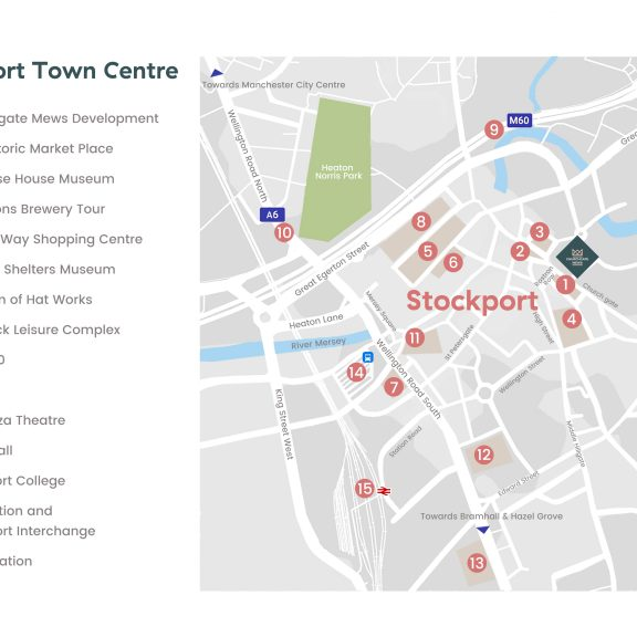 Stockport Town Centre Location